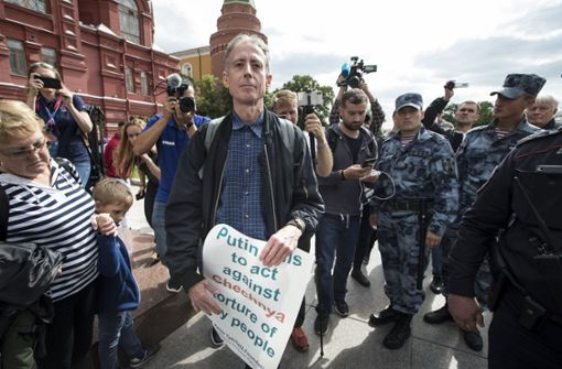 Menschenrechtsaktivist kurz vor WM-Start festgenommen