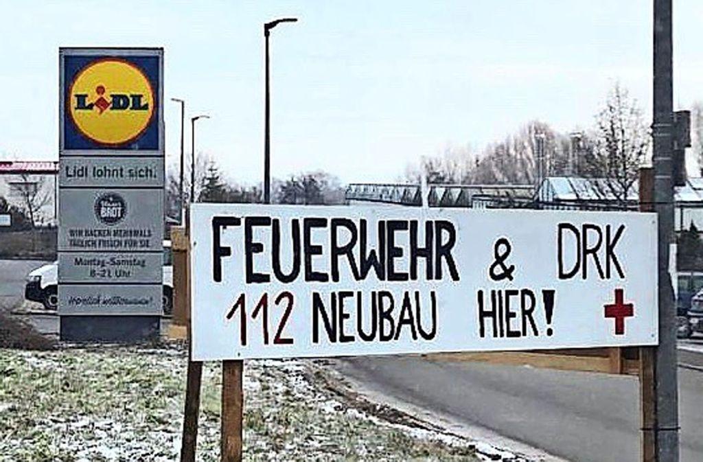 Feuerwehrhaus,  Pflegeheim – das städtische Grundstück am Stettener Ungerhaldenweg war schon für vieles im Gespräch. Foto: privat