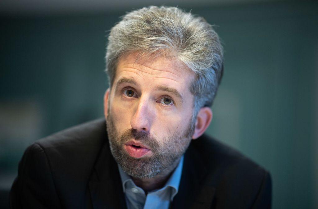 Boris Palmer, Tübinger Oberbürgermeister, will für Ordnung in seiner Stadt sorgen. Foto: dpa