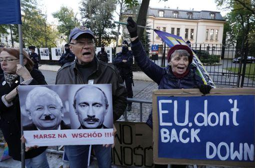 Polen geht auf Konfrontation mit der EU