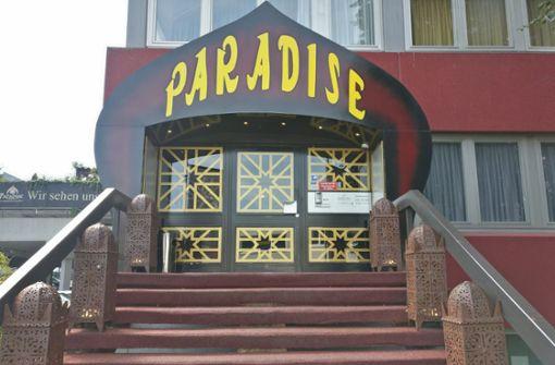 Razzia im FKK-Klub Paradise