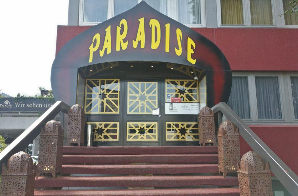 Für mehrere Stunden blieb das Paradise am Mittwoch geschlossen. Foto: Lorenz