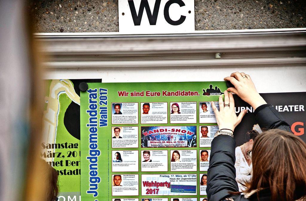Die Kandidaten für die  Wahl des Jugendgemeinderats stehen fest. Foto: Gottfried Stoppel