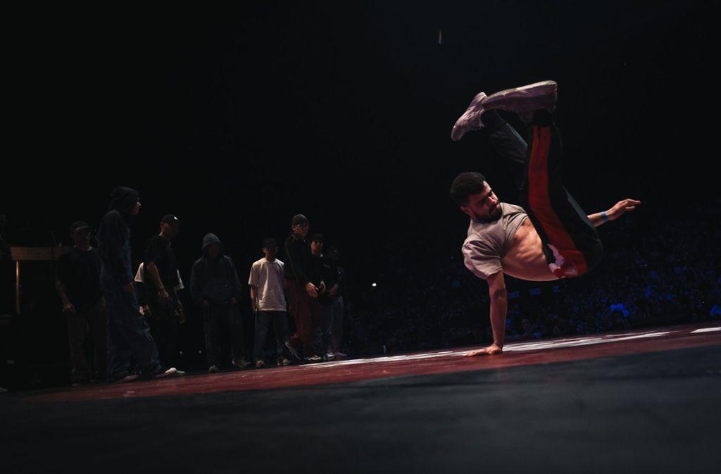 Breakdance soll 2024 zum olympischen Programm gehören. Foto: AFP