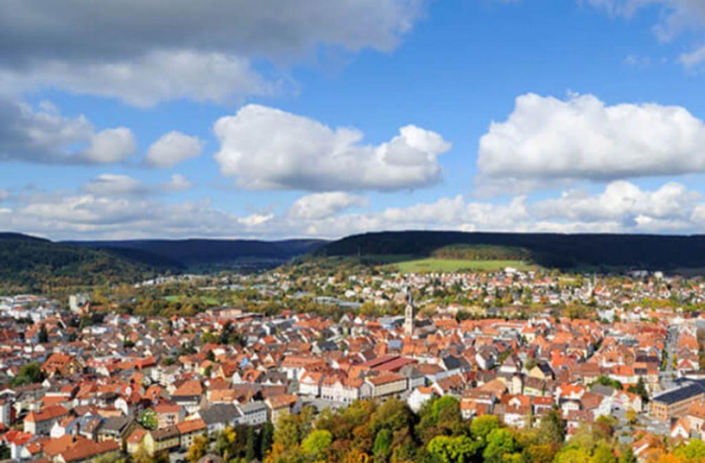 Weltmarktspitze aus der Provinz: Ein Panorama von Tuttlingen. Foto: Stadt Tuttlingen