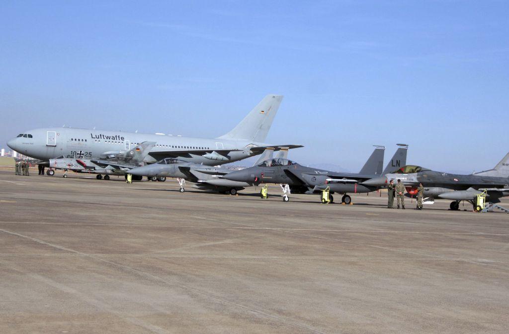Der Bundeswehrstandort in Incirlik. Foto: AP