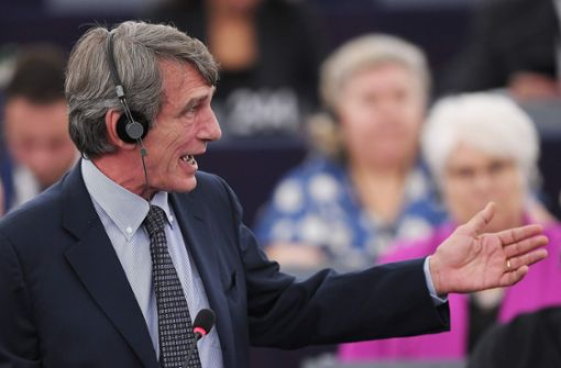 EU-Parlament wählt  David-Maria Sassoli zum Präsidenten