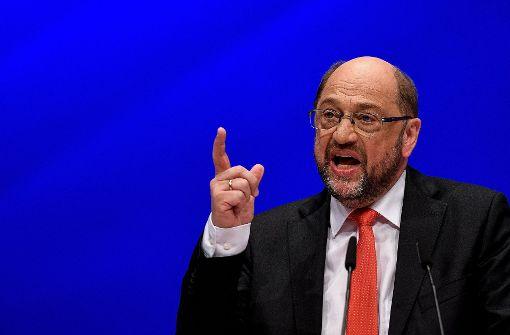 """Schulz attackiert Union: """"Anschlag auf die Demokratie"""""""