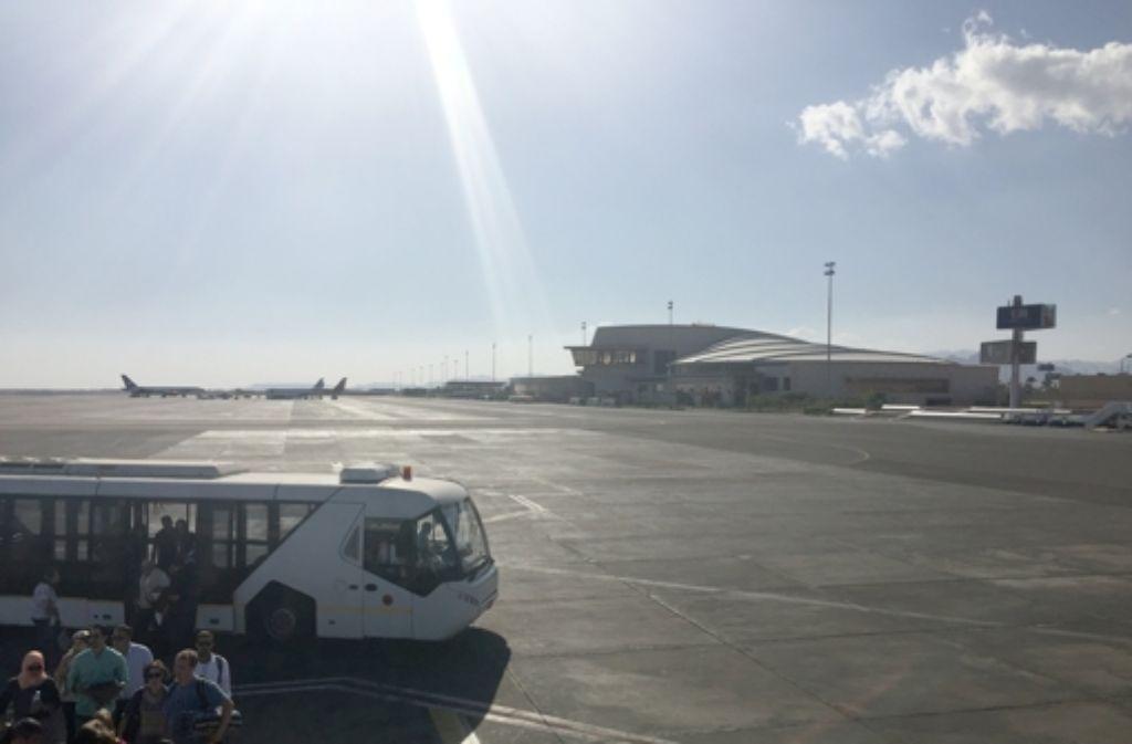 Flughafen Scharm el Scheich. Foto: dpa