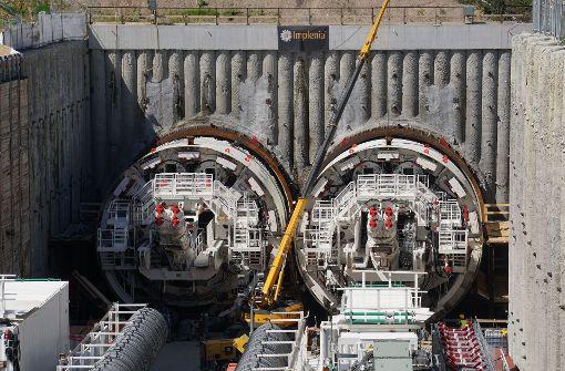 Mögliche Trinkwasserverunreinigung an Tunnelbaustelle