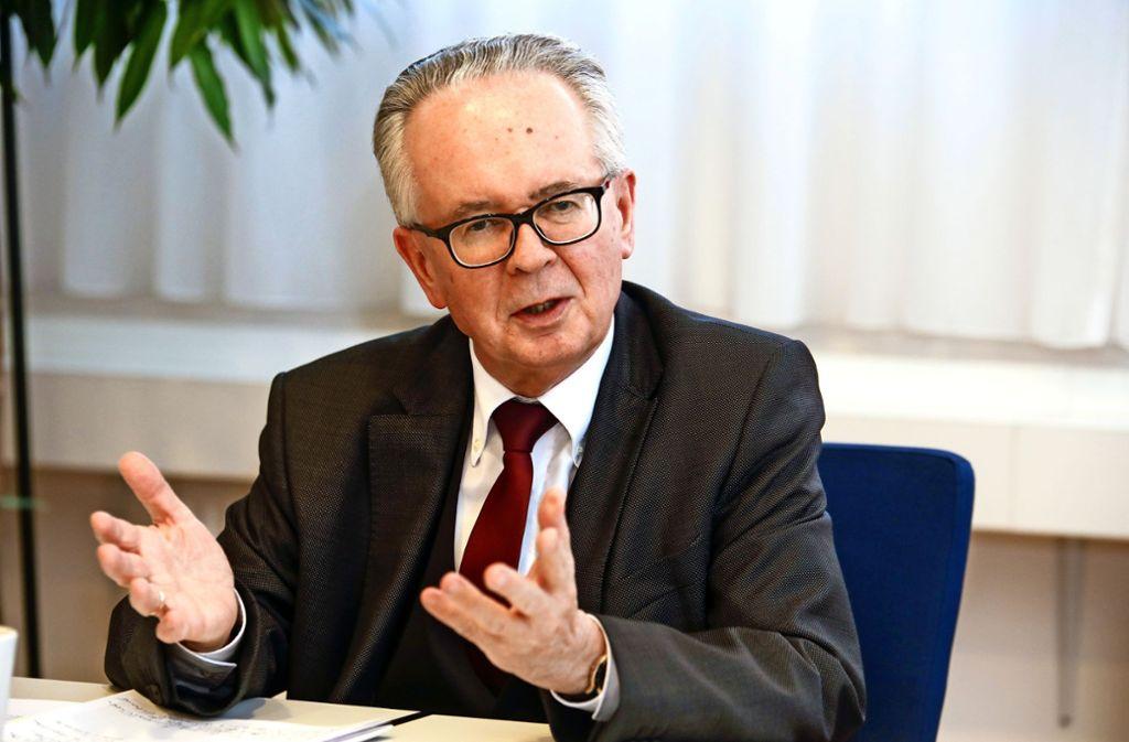 Johann Singer führt die Geschäfte in Steinenbronn weiter, bis ein neuer Verwaltungschef gewählt wurde. Foto: Archiv Thomas Krämer