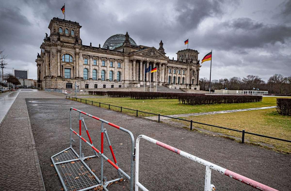 Der Reichstag soll eines der Anschlagsziele der mutmaßlichen Rechterrorgruppe gewesen sein. Foto: imago images/Jürgen Ritter/Jürgen Ritter