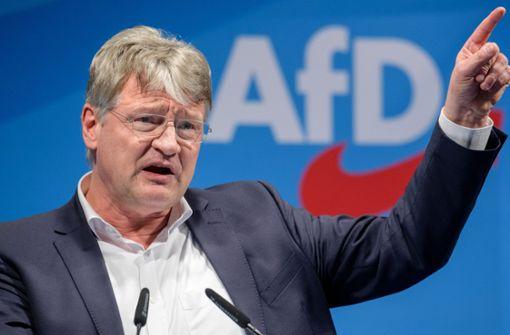 AfD-Chef Jörg Meuthen kündigt Widerstand an