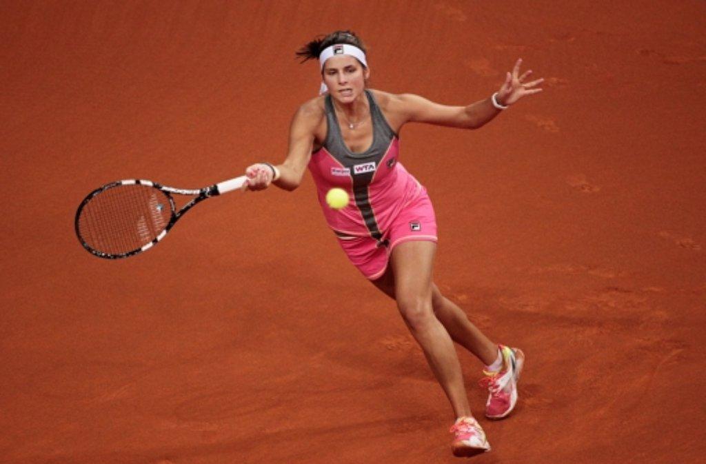 Julia Görges ist im Viertelfinale in Kuala Lumpur ausgeschieden. (Archivfoto) Foto: Bongarts/Getty Images