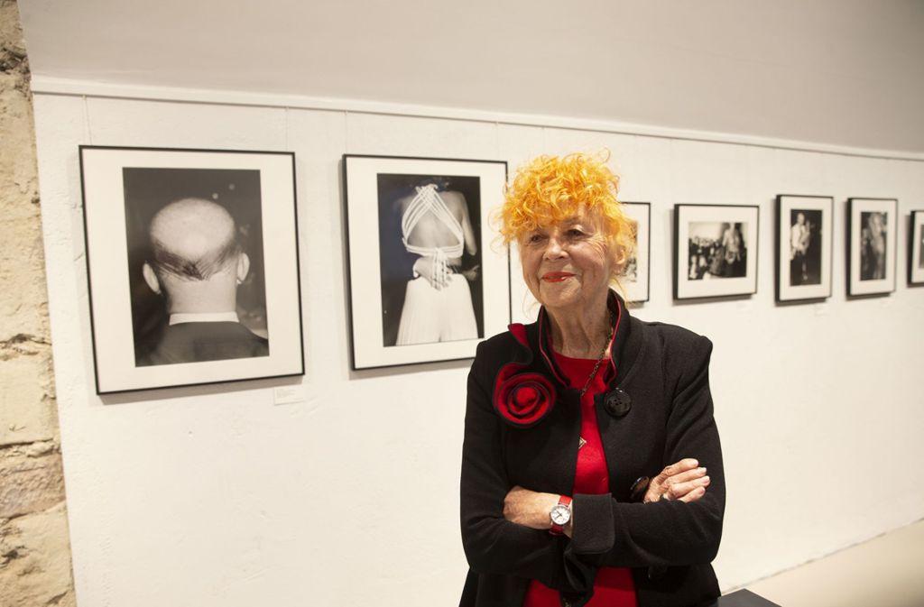 Zu Gast in Stuttgart: Herlinde Koelbl zur Eröffnung ihrer Ausstellung. Foto: gut/Leif Piechowski