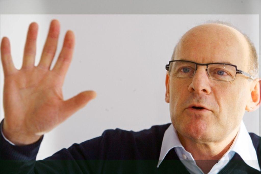 War lange Jahre Projektgegner: Verkehrsminister Winfried Hermann. Foto: Achim Zweygarth