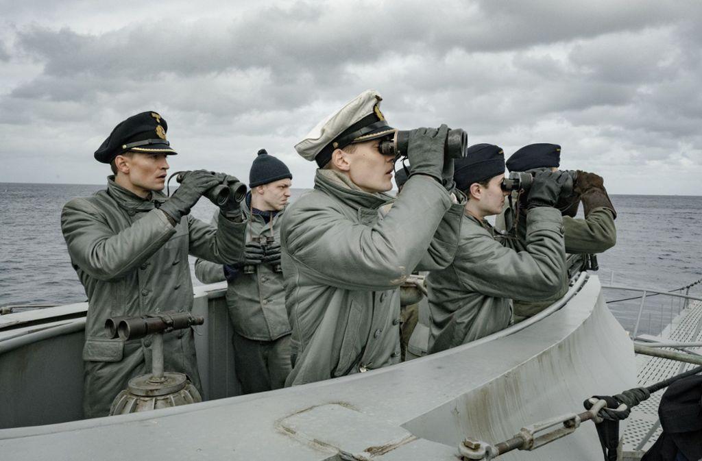"""Sky erlaubt der Besatzung der U-612 nur eine kurze Verschnaufpause. Nächstes Jahr sollen bereits die Dreharbeiten für die zweite Staffel von """"Das Boot"""" beginnen. Foto: Sky/Bavaria/Sonar"""