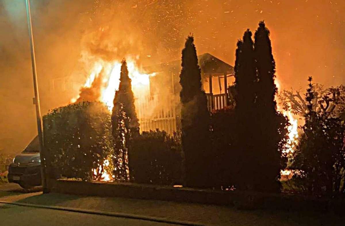 Am Mittwochabend hat es in Eppingen gebrannt. Foto: 7aktuell.de/Hessenauer