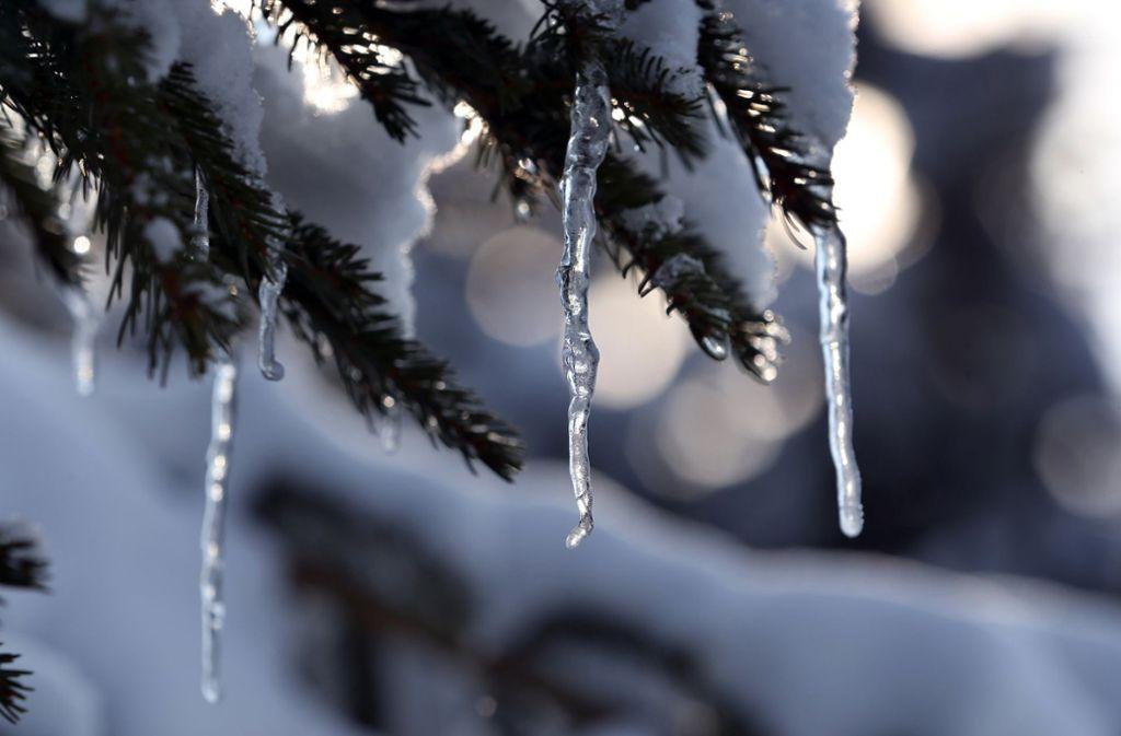 Schnee und Eis zaubern eine wunderschöne Märchenlandschaft. Foto: dpa