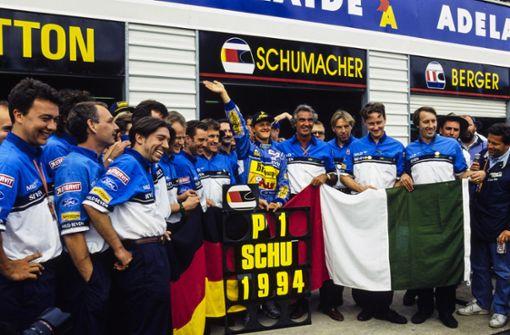 Schumachers erster Titel  – und  viele Fragen