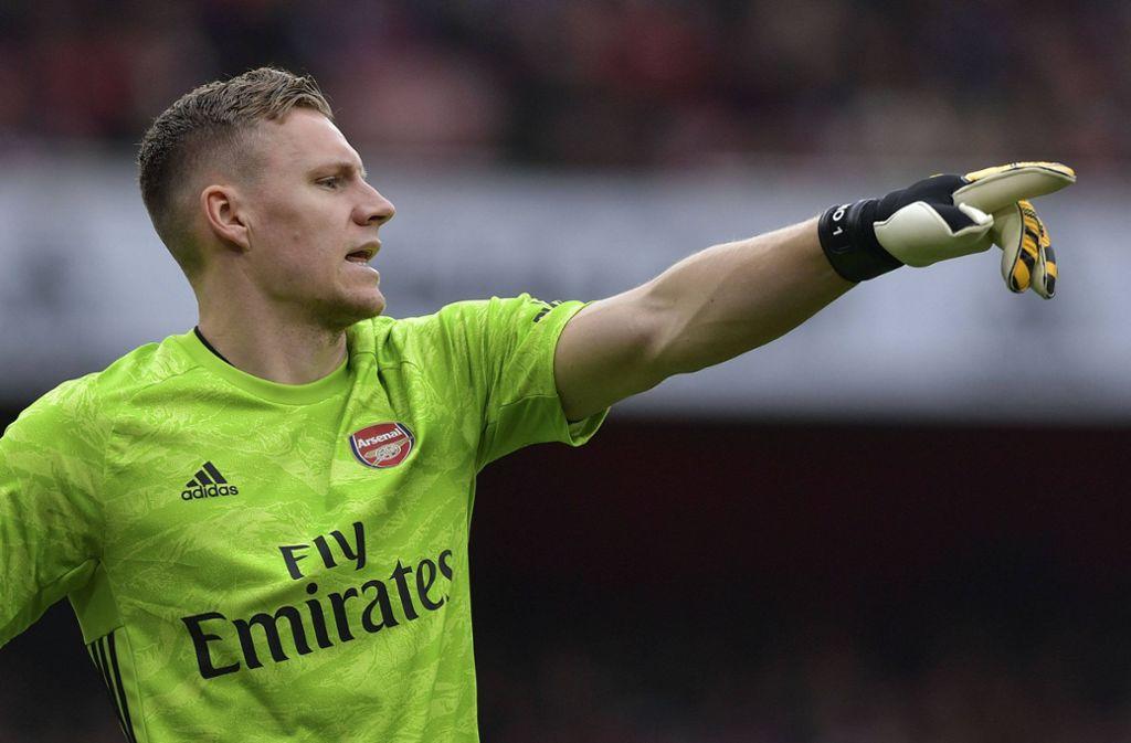 Bernd Leno von Arsenal London hat inzwischen ein eigenes E-Sports-Team. Foto: imago images
