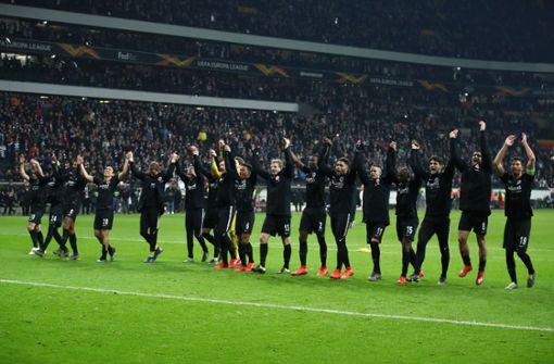 Eintracht Frankfurt trifft im Achtelfinale auf Inter Mailand