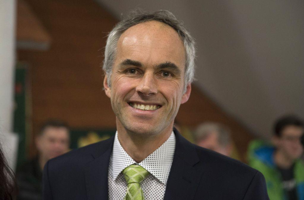 Matthias Ruckh wurde im März in Wolfschlugen als Bürgermeister wiedergewählt. Foto: Michael Steinert