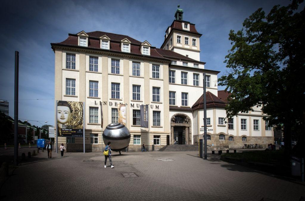 Das Stuttgarter Linden-Museum am Hegelplatz Foto: Lichtgut/Achim Zweygarth