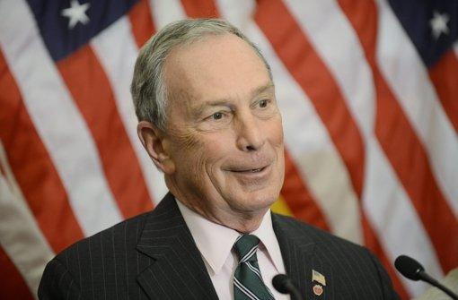 Milliardär Michael Bloomberg erwägt Kandidatur