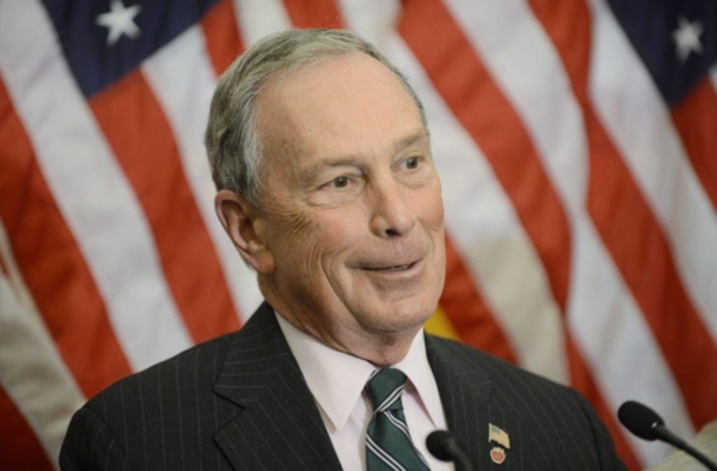 Michael Bloomberg ist parteilos. Foto: dpa