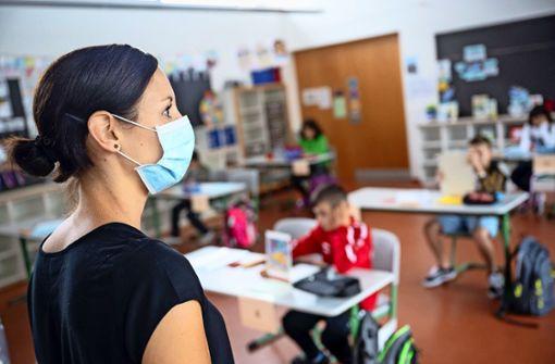 Grundschullehrer gehen  bei Dienstmasken leer aus