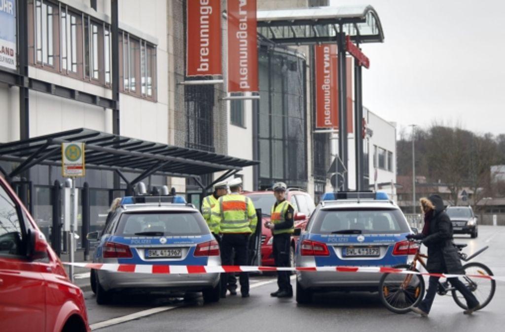 Sindelfingen breuningerland evakuiert landkreis for Depot sindelfingen breuningerland