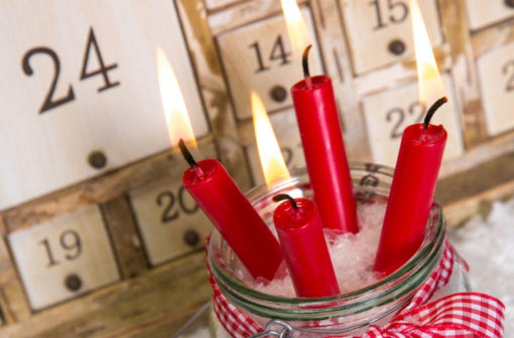 adventskalender selber machen ist am sch nsten weihnachtsshopping stuttgarter zeitung. Black Bedroom Furniture Sets. Home Design Ideas