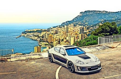 Edelkarossen   vom Engelberg glänzen in Monaco