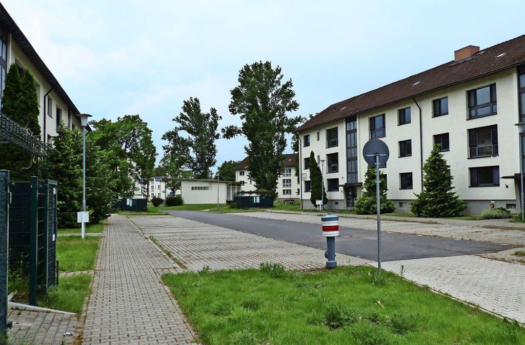 Die Wohnblocks im Patrick Henry Village müssen nicht zwangsläufig abgerissen werden –  das finden zumindest die Projektentwickler des Bundes. Foto: BImA
