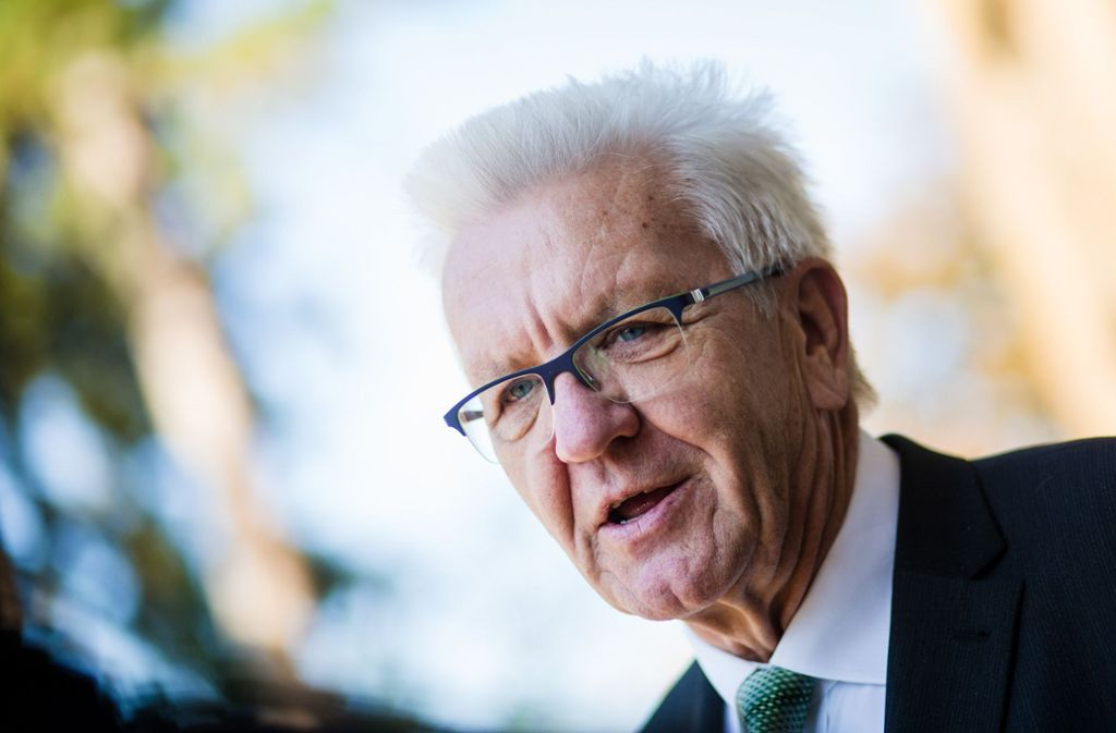 Auch Ministerpräsident Winfried Kretschmann ist Opfer des Hacker-Angriffs auf deutsche Politiker geworden. Foto: dpa