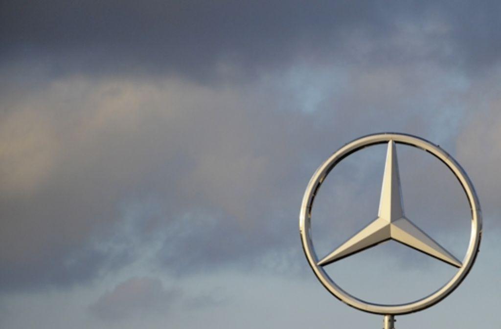 Es steht in den Sternen, wie es mit Mercedes-Benz weitergeht. Foto: dapd