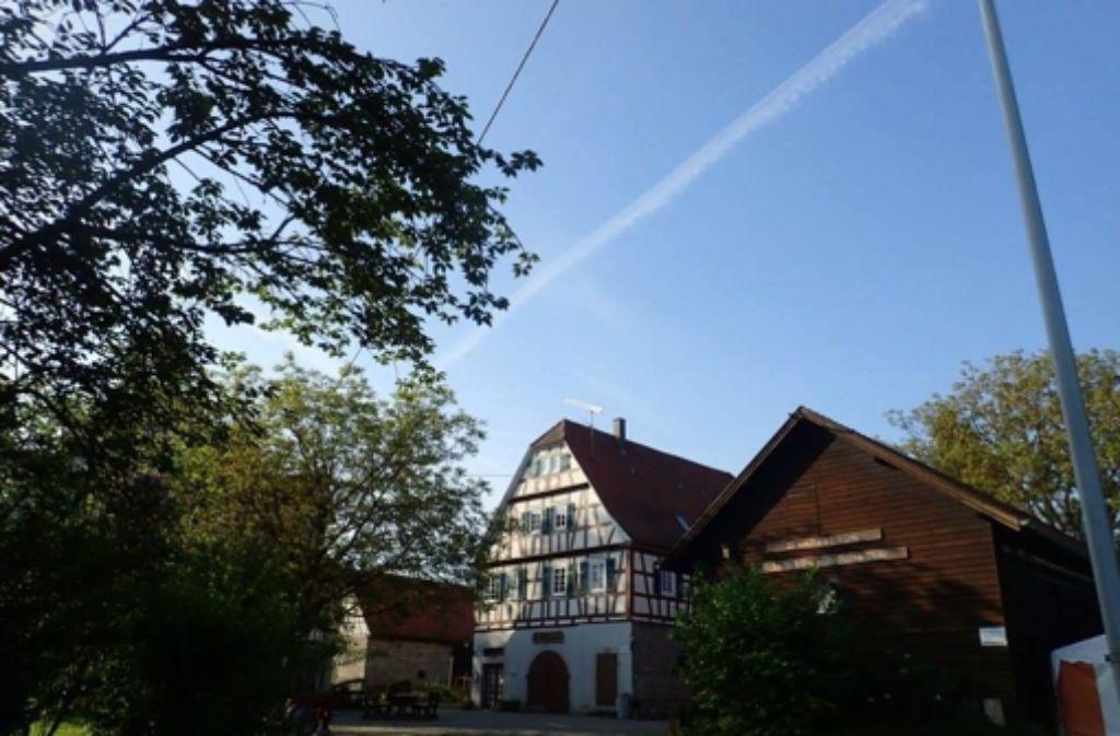 Der Eschelhof bei Sulzbach Foto: Martin Tschepe