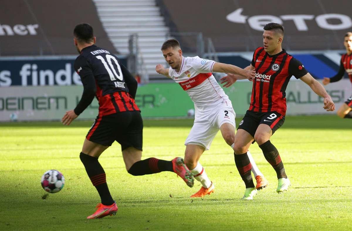 Bei Eintracht Frankfurt hat der VfB Stuttgart 1:1 gespielt. Unsere Redaktion hat die Leistungen der VfB-Profis wie folgt bewertet. Foto: Pressefoto Baumann/Hansjürgen Britsch
