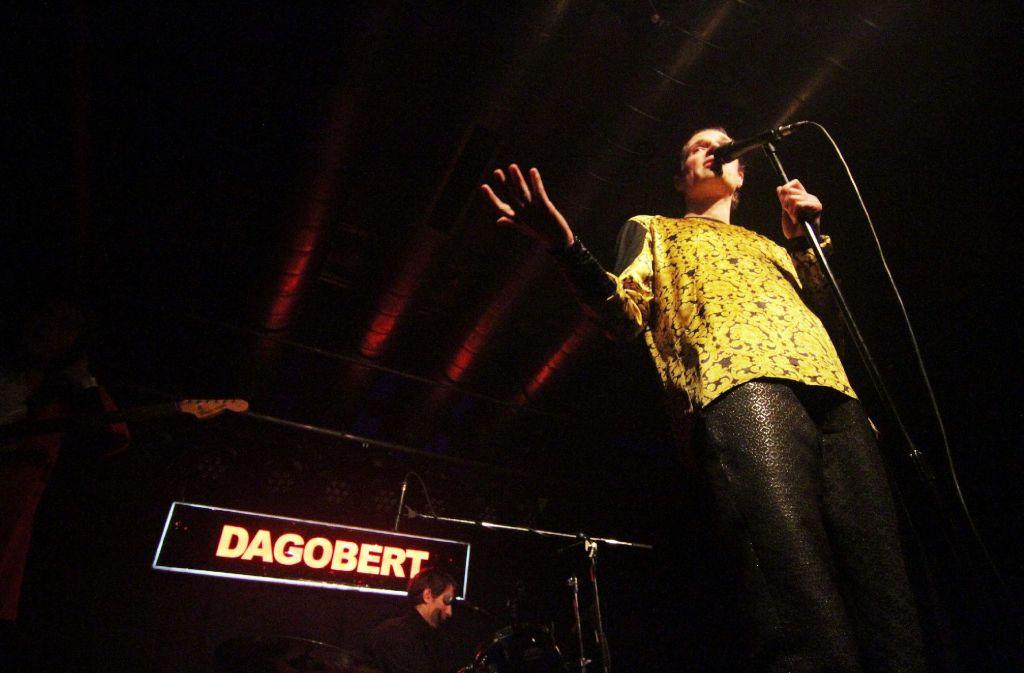 Dagobert hat am Samstagabend das Pop-Freaks-Festival im Stuttgarter Kulturzentrum Merlin beendet. Einige Eindrücke von den Konzerten zeigt die Fotostrecke. Foto: Jan Georg Plavec
