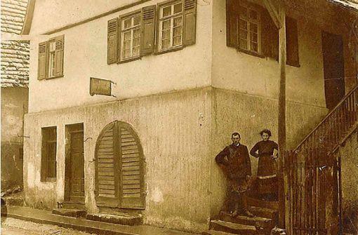 Ein Stolperstein für den letzten Juden von Hochberg