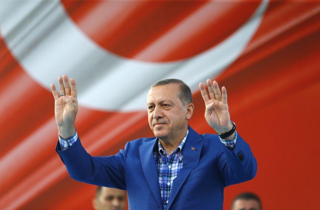 Der türkische Präsident Recep Tayyip Erdogan. Foto: EPA