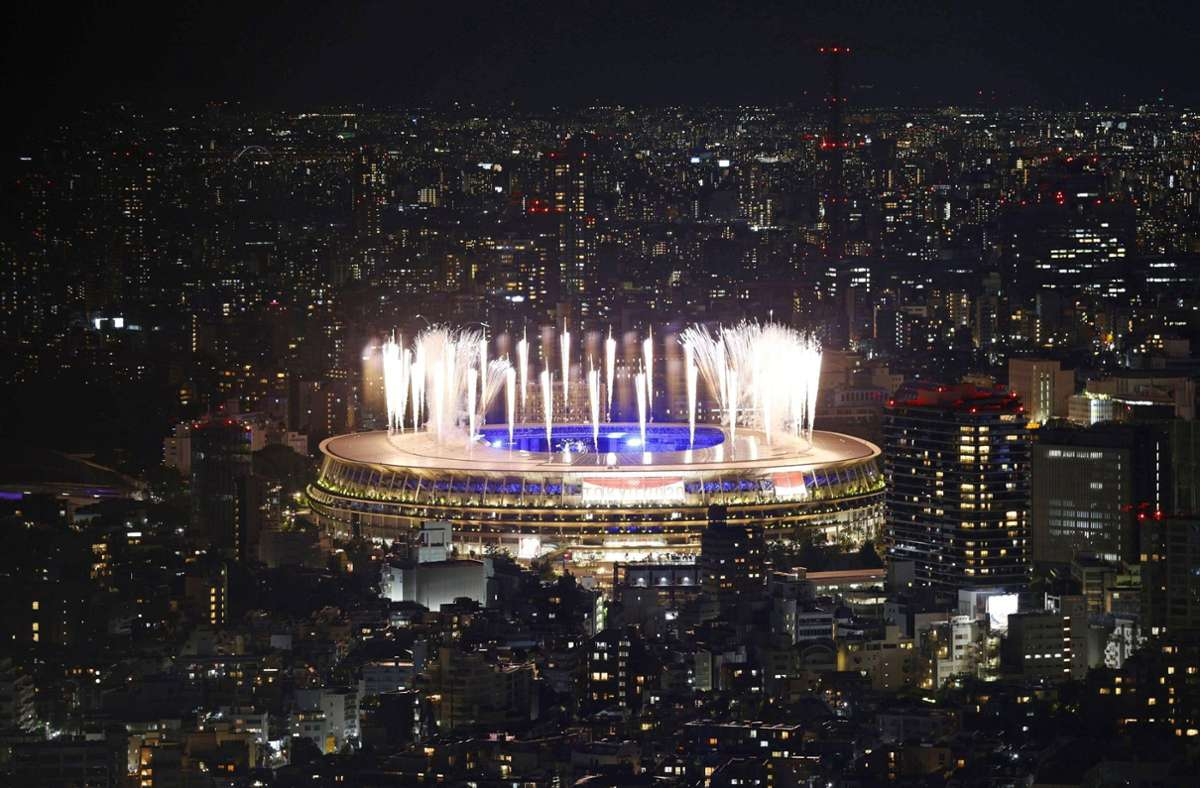 Tokio zeigte zum Abschied ein tolles Spektakel. Foto: imago images/Kyodo News