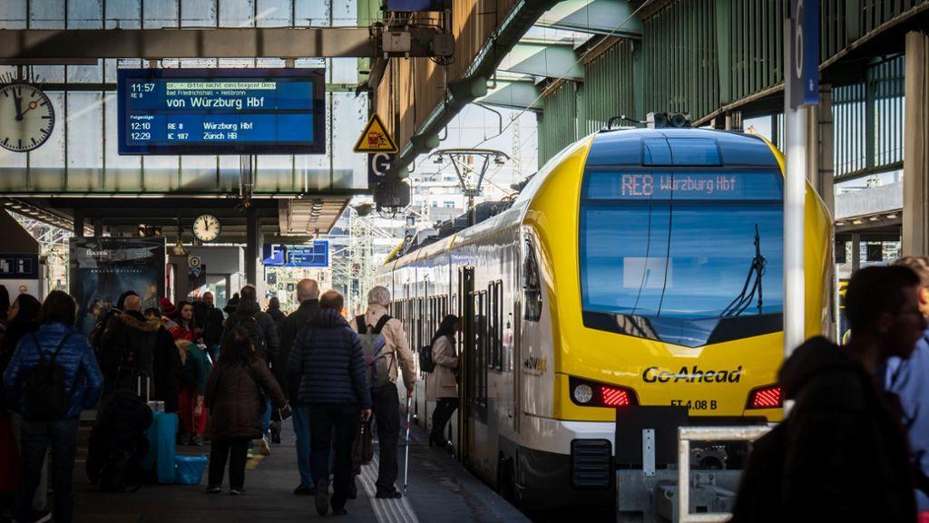 Übergewicht stoppt Go-Ahead-Züge
