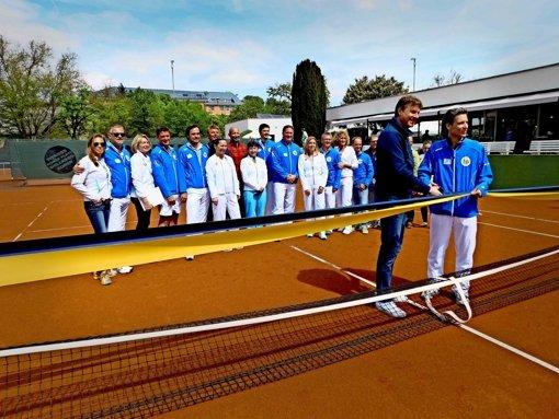 Großes Tennis auf sanierten Plätzen