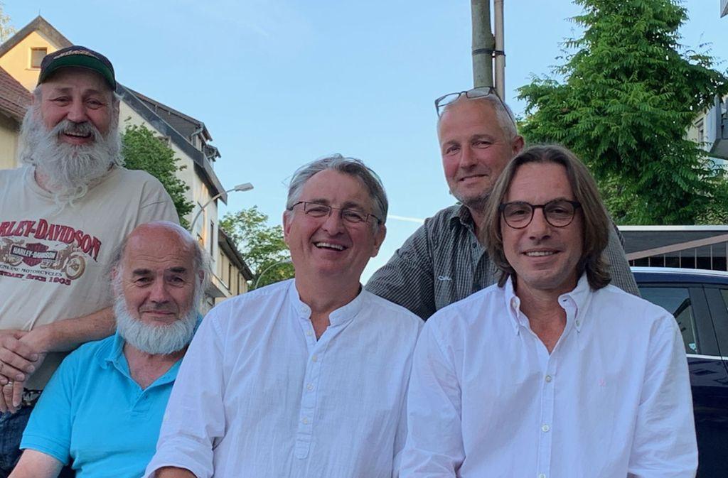 Das ist der neue Vorstand von Birkach aktiv: Kurt Lunke, Walter Haag, Oliver Volk, Ralf Ücker, Michael Engerer (v.l.n.r.) Foto: z