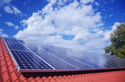 Strom vom  eigenen Dach