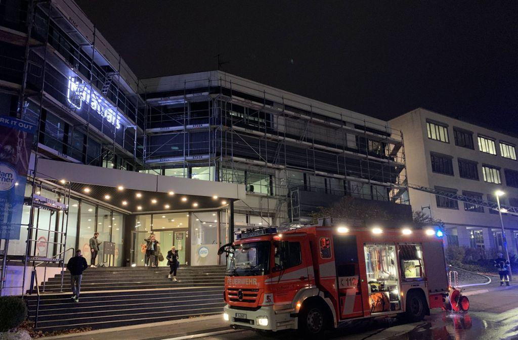 In einem Gebäude in Stuttgart-Möhringen hat es gebrannt. Foto: 7aktuell.de/Alexander Hald