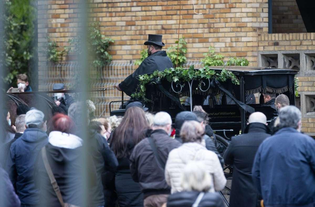 Willi Herren wurde auf dem Kölner Melatenfriedhof begraben. Foto: dpa/Rolf Vennenbernd