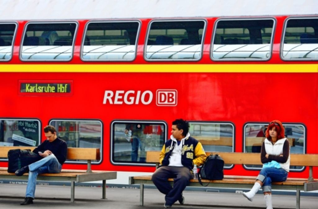 Die meisten Züge im Nahverkehr gehören der DB Regio – das muss aber nach der Ausschreibung nicht so bleiben. Foto: Rudel/Regenscheit